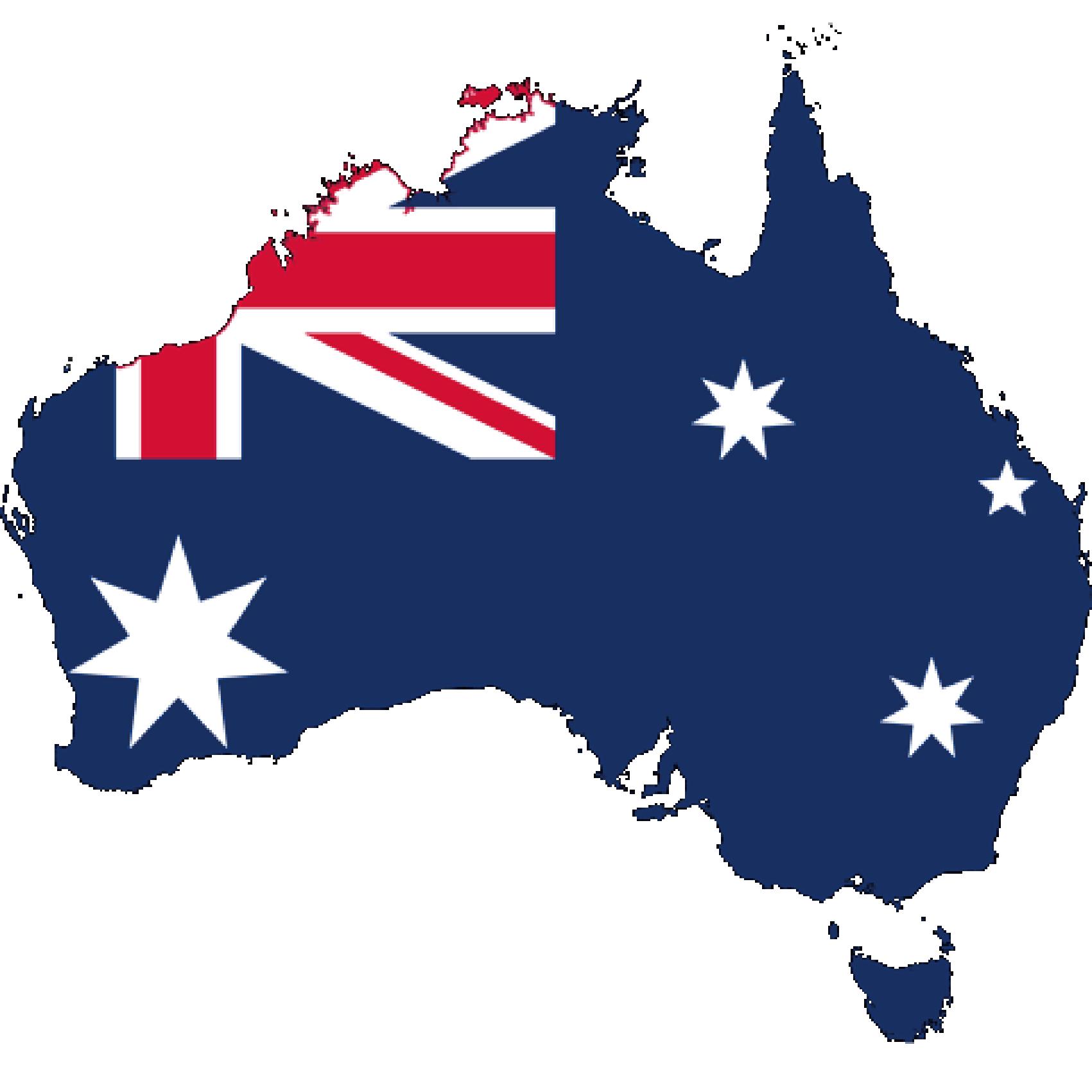 Flag of Australia, the partner of barskorea.