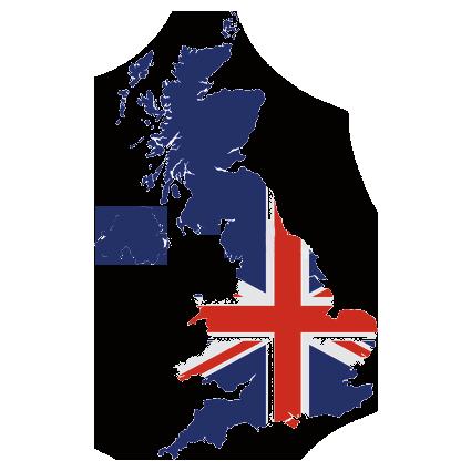 Flag of UK, the partner of barskorea.