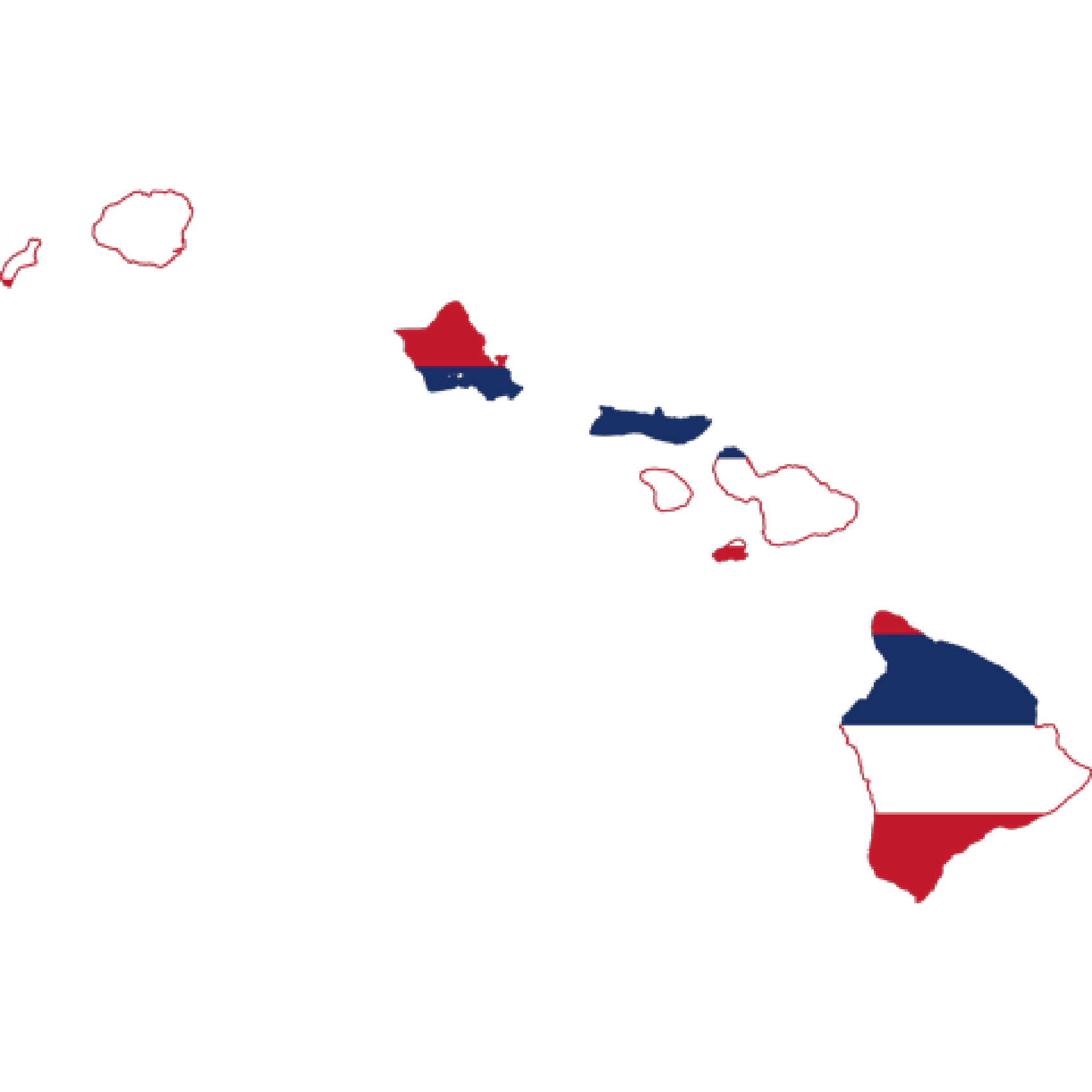 Flag of Hawaii, the partner of barskorea.
