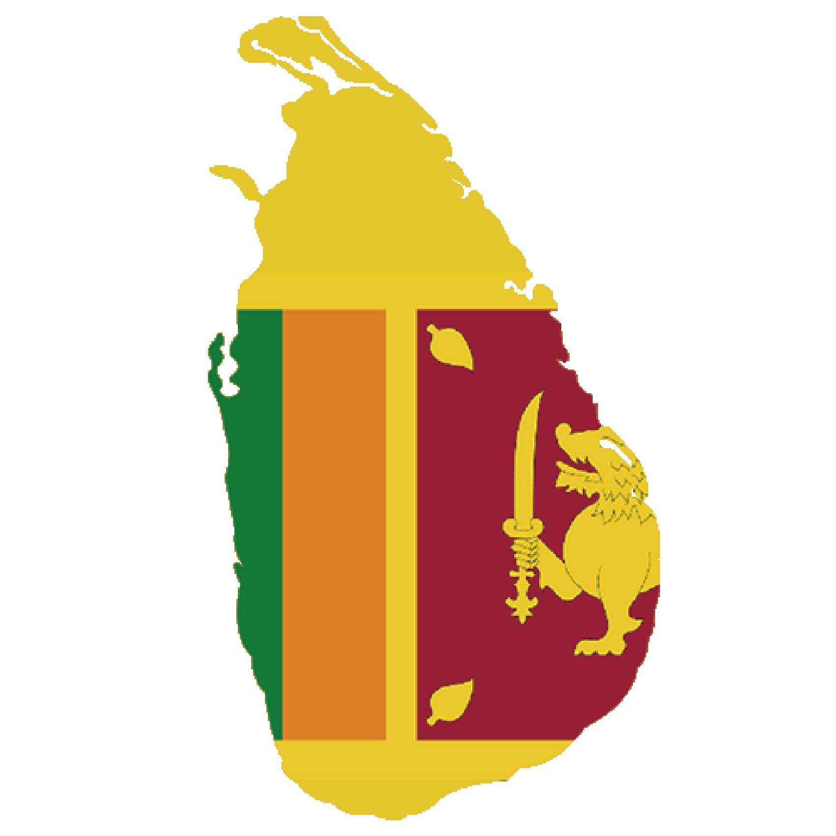 Flag of Sri ranka, the partner of barskorea.
